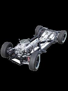 corvette chassis conversion 55-62